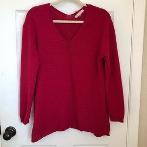 Philosophy Oversizedknit super soft fusia sweater
